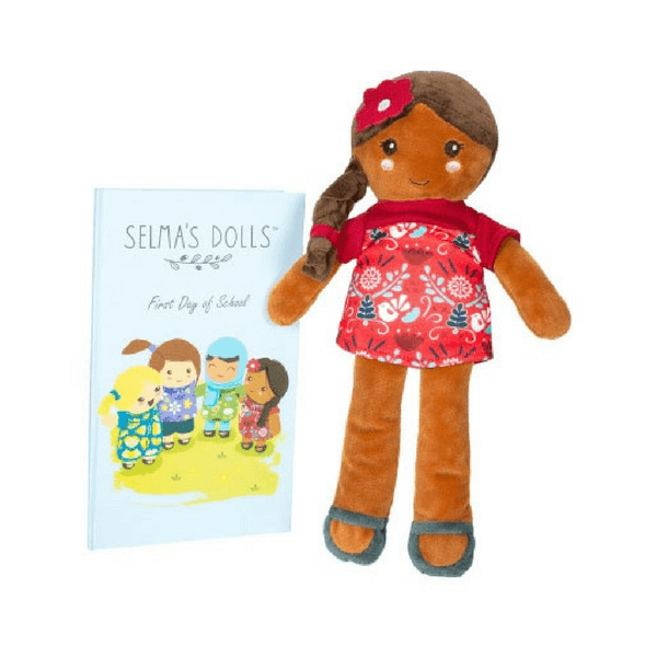 Selma's Dolls with Book (3 Options)
