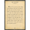 Jim Valvano - Book Collection - Sugarboo and Co - Cream - Grey Wood Frame