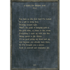 A Gift to Bring You - Rumi - Sugarboo and Co Poetry Collection - Charcoal - Grey Wood Frame