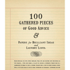 100 Gathered Thoughts Notepad - Good Advice - Sugarboo and Co