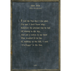 The Sun - Sugarboo and Co Poetry Collection - Charcoal - Grey Wood Frame