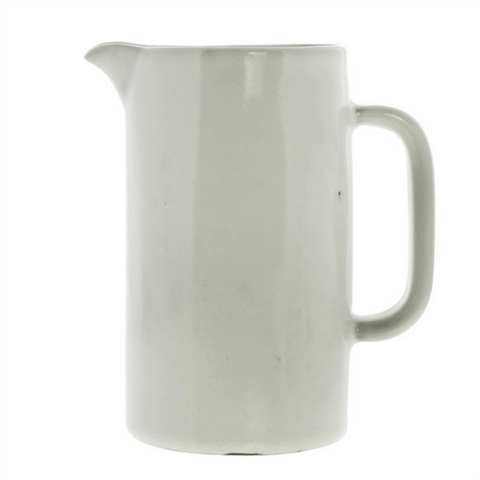 White Ceramic Pitchers (Two Sizes) - Small - Sugarboo and Co
