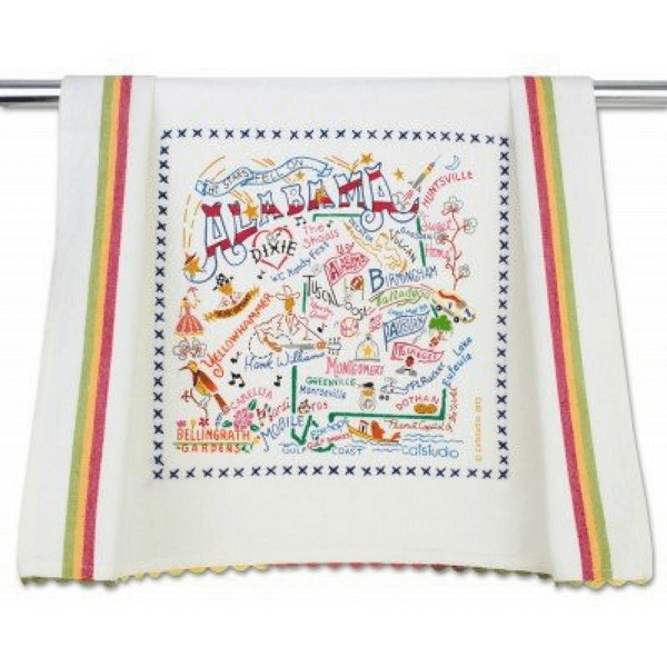 Alabama Dish Towel - Sugarboo and Co