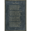 Poetry Collection - If - Rudyard Kipling - Charcoal - Grey Wood Frame