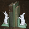 Cast Iron Bunny Bookends - Sugarboo and CO