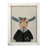 Fabric Wall Art - Moose - Sugarboo and Co