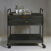 Iron and Wood Bar Trolley - Sugarboo & Co