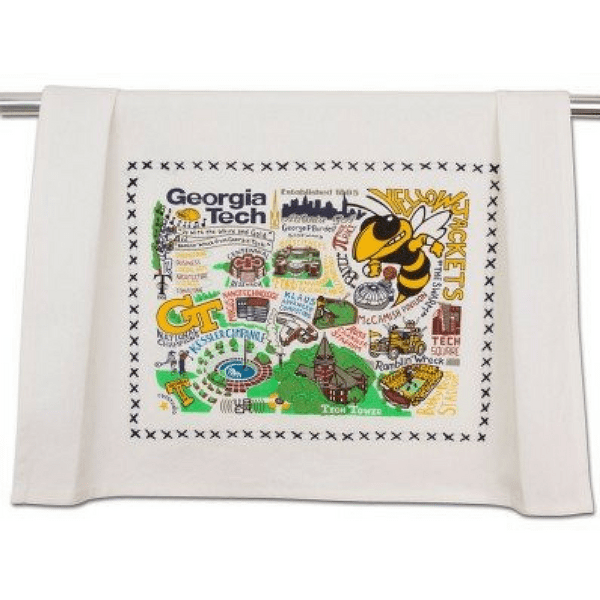 Georgia Tech Dish Towel - Sugarboo and Co