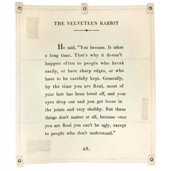 Wall Tarp - The Velveteen Rabbit - Sugarboo and Co