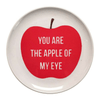 Sugarboo Art Print Melamine Plates - You Are the Apple of my Eye - Sugarboo and Co