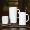 White Ceramic Pitchers (Two Sizes) - Sugarboo and Co