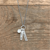 Sterling Silver Necklace - Love You X Forever