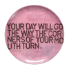 Sugarboo Art Print Melamine Plates - Your Day Will Go - Sugarboo and Co