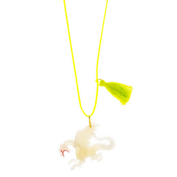 Glow-in-the-Dark Dragon Necklace - Sugarboo and Co