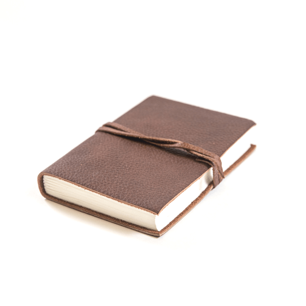 Small Leather Wrap Journal - Sugarboo and Co