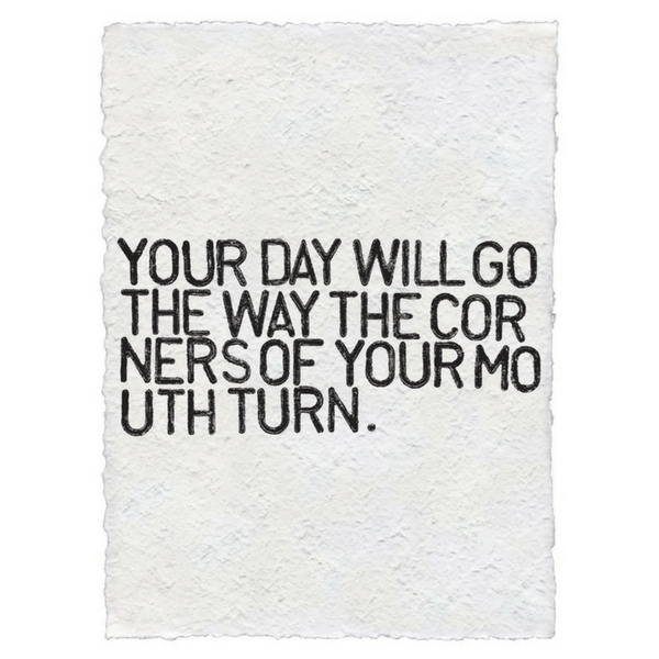 Sugarboo Paper Prints - Your day will go