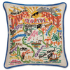 Hand-Embroidered Pillow - Tampa - Sugarboo and Co