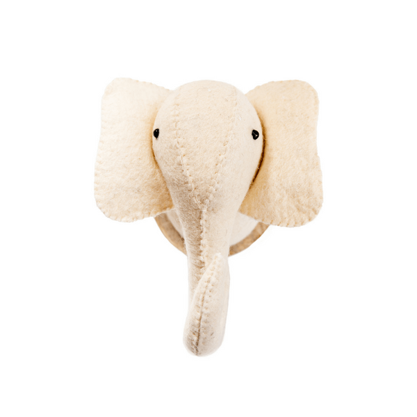 Felt Animal Trophy - Elephant - Sugarboo and Co
