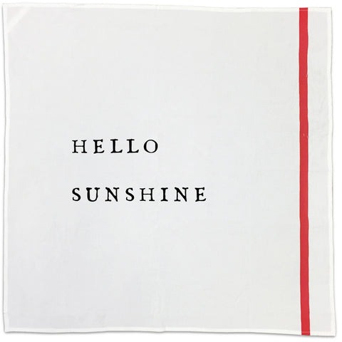 Hello Cotton Napkins (choose from 10)