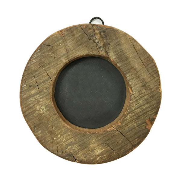 Round wooden picture frame - Sugarboo
