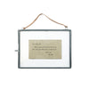 Zinc Hanging Picture Frame (2 sizes)