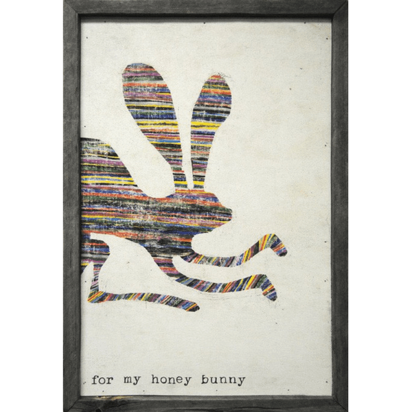 For My Honey Bunny - Sugarboo Designs Art Print