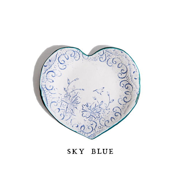 Ceramic Heart Dish