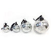 Round Antiqued Glass Ornament ( 4 sizes)