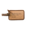 Leather Luggage Tag (7 Options)