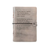 Grey Leather Journal (6 sayings)
