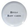Hello Series Melamine Plates - Hello Baby Cakes - Sugarboo and Co