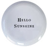 Hello Series Melamine Plates - Hello Sunshine - Sugarboo and Co