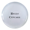 Hello Series Melamine Plates - Hello Cupcake - Sugarboo and Co
