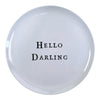 Hello Series Melamine Plates - Hello Darling - Sugarboo and Co