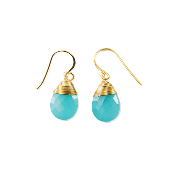 Drop Earrings (3 Stone Options)