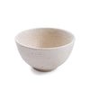 Ribbed Ceramic Speckled Bowl