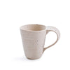 Ribbed Ceramic Speckled Coffee Mug