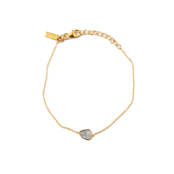 Diamond Slice Cute Gold Bracelet