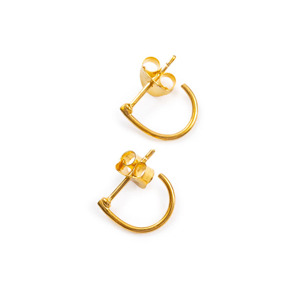 Gold Cuff Earrings