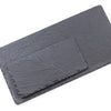 Rectangular Slate Platter with Distressed Edges