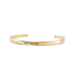 Just One Life Cuff - Brass