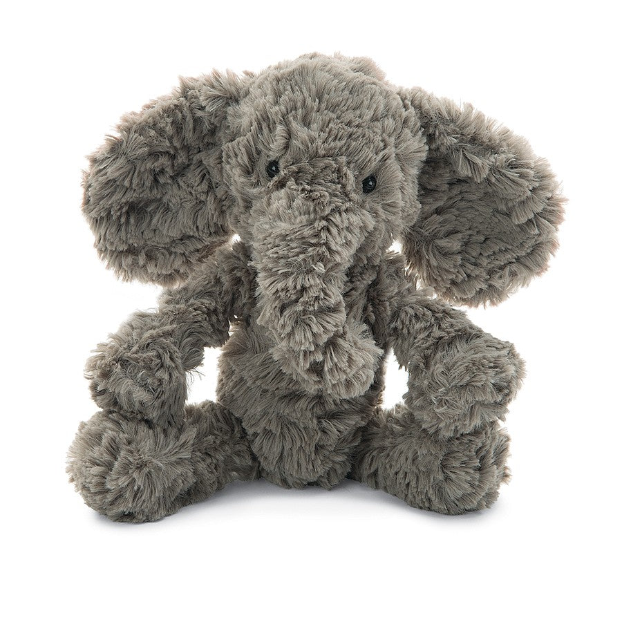 Squiggle Elephant - Grey