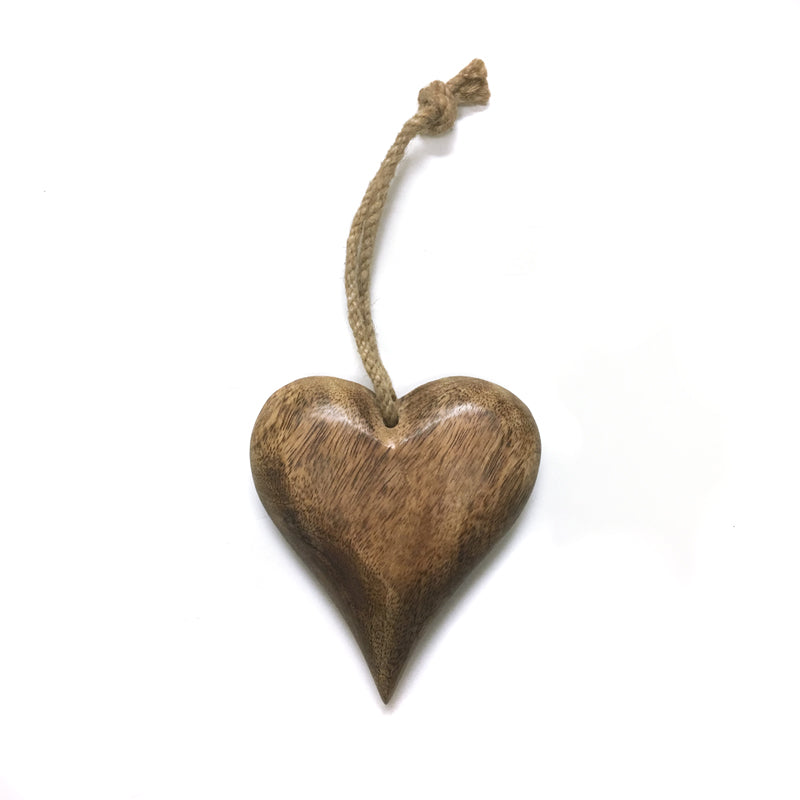 Wood Heart Hanging