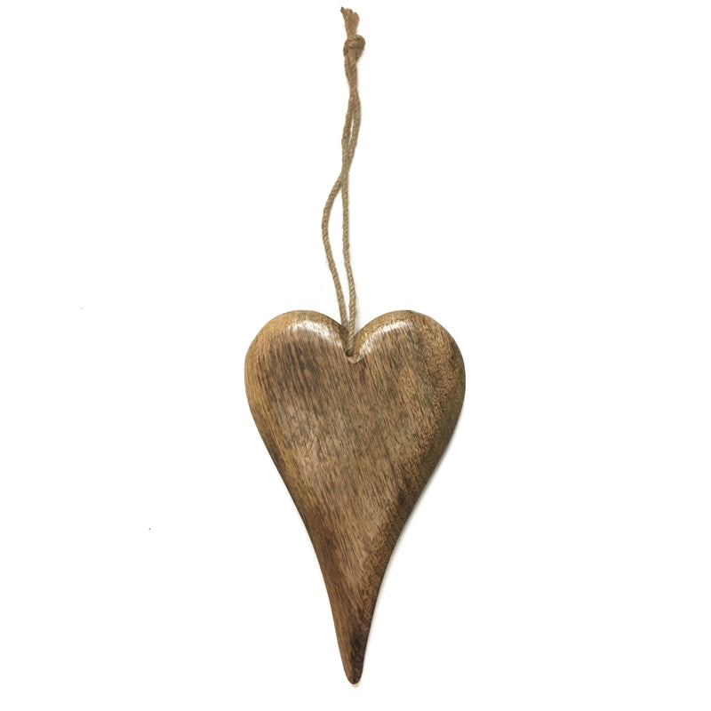 Small Wooden Heart Hanging