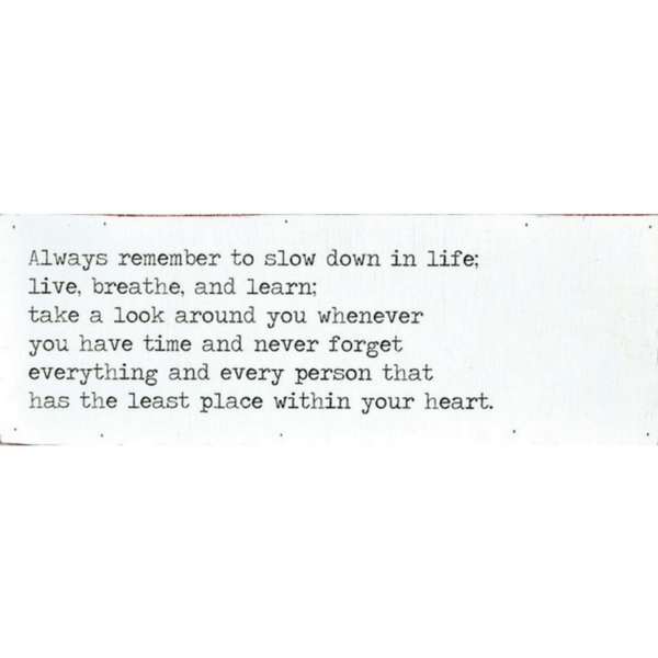 Always Remember - Love Letter - Sugarboo and Co