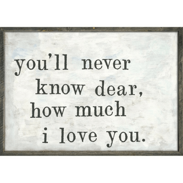 You'll Never Know - Sugarboo and Co Art Print