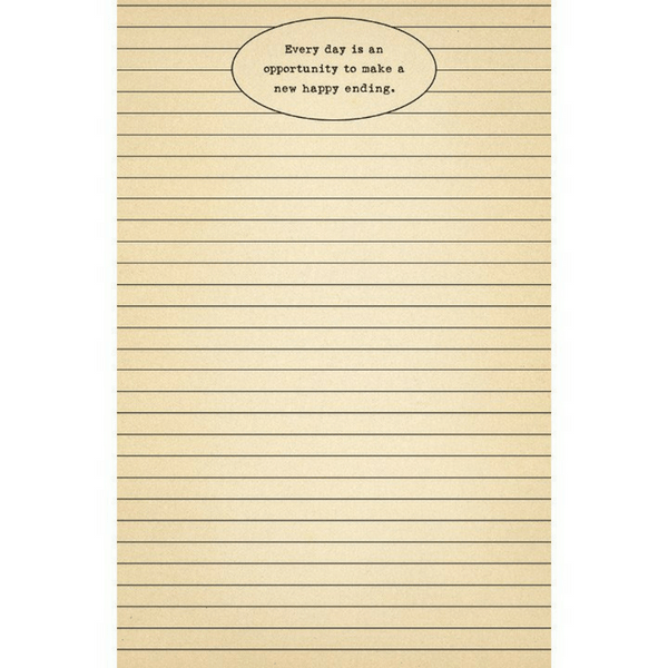 Every day is an opportunity notepad - Sugarboo and Co