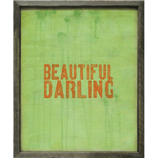 Beautiful Darling - Sugarboo and Co Art Print