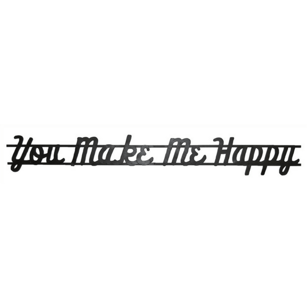 You Make Me Happy - Mercantile Sign - Sugarboo and Co