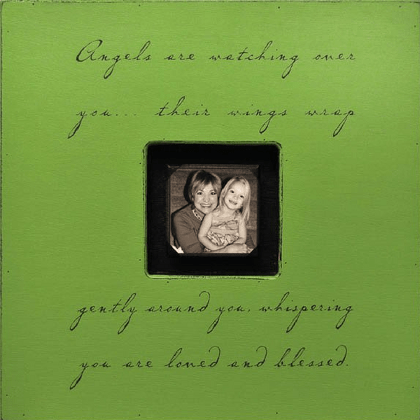 Angels are Watching Over You - Sugarboo and Co Photobox - Apple Green
